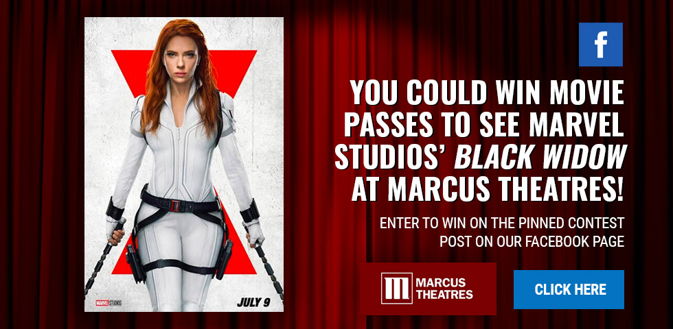 Enter to Win Movie Passes to Black Widow